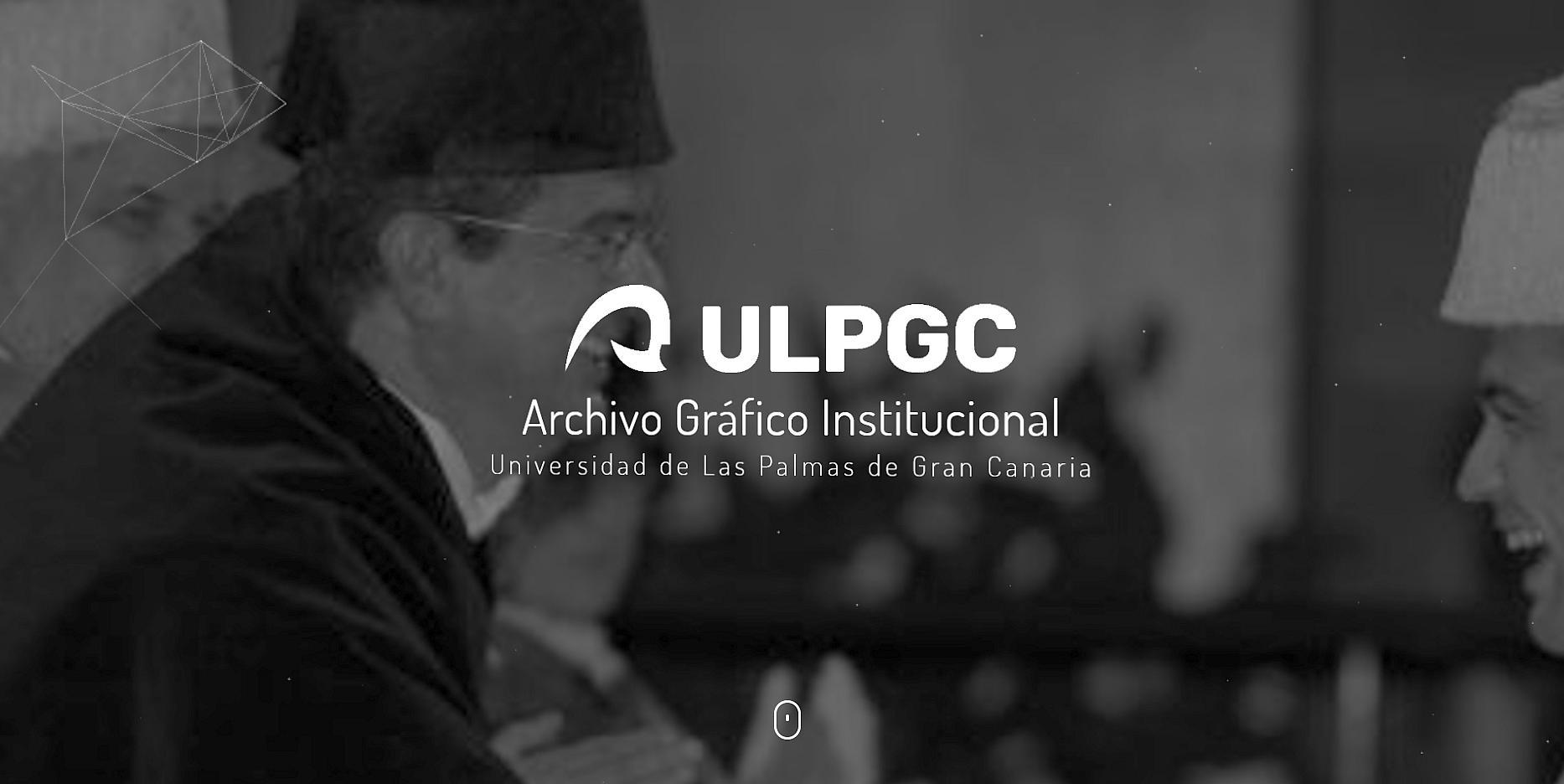 Archivo gráfico institucional de la ULPGC